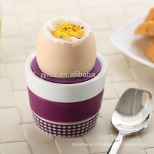silicone top egg cup holders