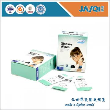 Tejidos húmedos para limpieza de lentes prehumedecidos