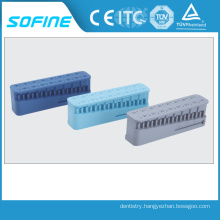 CE Approved Plastic Root Canal Measuring Block