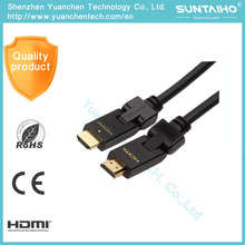 New Style High Quality & High Speed Rotating Flexible HDMI Cable