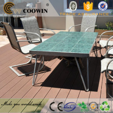 Red wood anti-slip balcony plastic decking price singapore