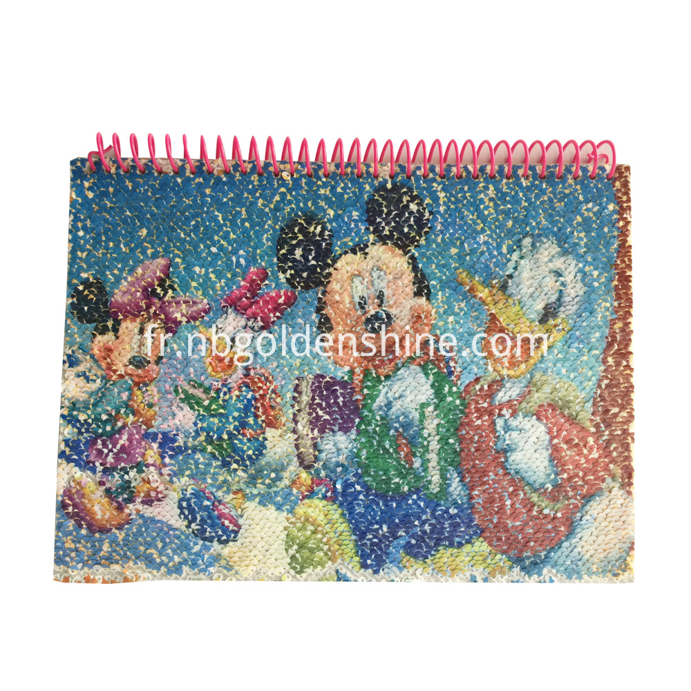 Sequin Magic Notebook Journal