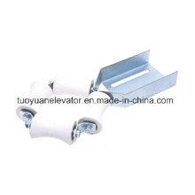 Dispositif de rouleau de guidage de la chaîne de levage / élévateur