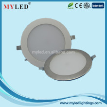 Hot-sale fixture 6inch white and stainless surface 12w led downlight factory wholesale price