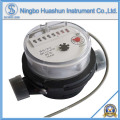 Medidor de água de corpo de plástico simples tipo jet seco com função de saída de pulso