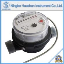 Medidor de água AMR / Tipo seco Medidor de água fria / função de saída de pulso Medidor de água