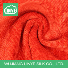 Tecido de decoração de Natal de poliéster padrão de grãos, tecido de veludo, tecido de estofamento