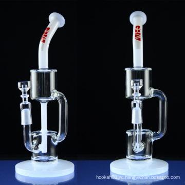 Оптовая табачная трубка для курения с Recycler Perc (ES-GB-013)
