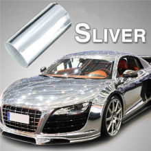 Sliver Mirror Chrome Wrapping Vinyl Materials