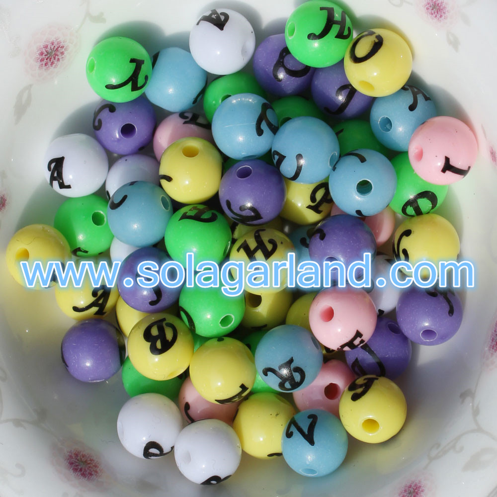 Letter/Alphabet Beads For Jewelry Bracelet