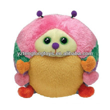 Colorido esfera de diseño lindo juguete de mariquita de felpa