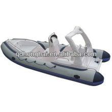 Barco de fibra de vidrio la costilla inflable 580C