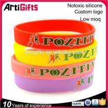 Wholesale nouveaux bracelets de bracelets en silicone à la mode