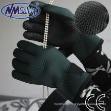 NMSAFETY caoutchouc de plongée sur caoutchouc de porte-gant de paume