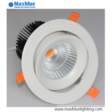 Hole 145mm LED Recessed Ceiling Light with 30W CREE COB