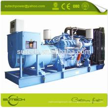 Guter Preis! 3000KVA / 2400KW diesel generator mit Deutschland original 20V4000G63L MTU motor