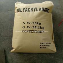 Poliacrilamida catiónica Pam para productos químicos de fabricación de papel