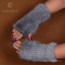 Гарантия качества половина меховые перчатки безопасности