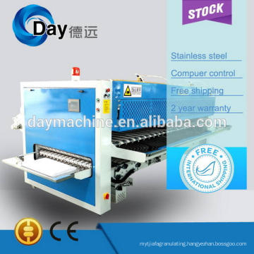 High quality and hot sale 2015 3 rolls commercial folding machine