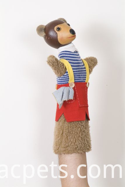 monkey hand puppet for theater