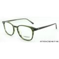 2018 acetate frames optical eyewear stripes spectacles slim rim eyeshape