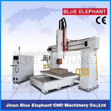 Prix usine de haute précision avec la certification CE 5d machine cnc