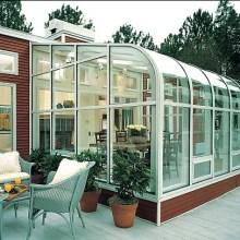 Energy-Saving Insulated Glass Sunroom