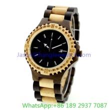 Высокая-класс деревянные часы, Кварцевые часы (HLJA-15162)