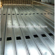 Canal C en métal galvanisé à sec