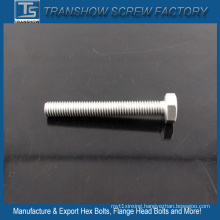High Strength Silver Coated Hexagon Bolts