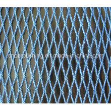 Nylon / poliéster / polietileno / rede de peixe sem nó / rede de pesca Raschel