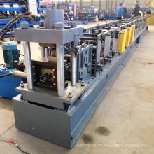 Kundengebundene Metallmetallische Stahlpfostensupermartregalanzeigenregalspalten-aufgerichtete Regale rollen Formungsmaschine
