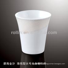 Gesundes haltbares weißes Porzellan-Ofen sicheres goldenes Sand-Geschirr