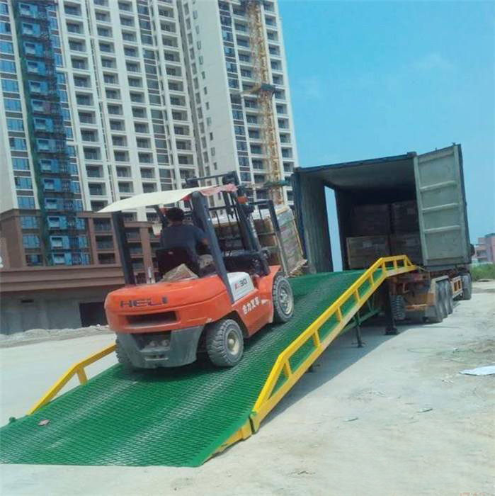 Mobile Hydraulic Loading Goods Dock Leveler With Best Price