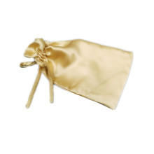 satin bag with tie drawstring for packing jewellery
