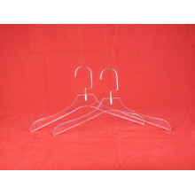Hot Sale Acrylic Transparent Clothing Display Hangers