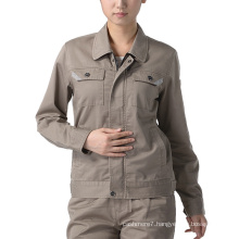 OEM Women Work Clothes Cotton Workwear Jacket Uniform