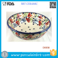 Polish Ceramic Ice Cream Bowl