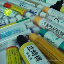 Tubos de alumínio embalagens farmacêuticas de tubos tubos unguento