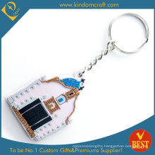 Hot Sale Customized Logo Rubber PVC Key Ring at Factory Price with High Quality