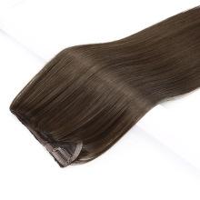 Wholesale Brazilian Hair 100% Human Virgin Hair Clip in Hair Extension