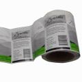 Auto-adhésif Impression personnalisée Étiquette d'étiquette d'oeufs destructeur