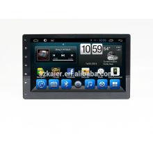 Quad core voiture dvd lecteur android, wifi, BT, lien miroir, DVR, SWC pour 10.1 pouces universel