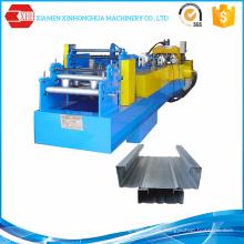 Construcción de acero C / Z Purlin que forma la máquina