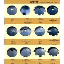 Agricultural farm disc blades for Cultivator