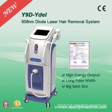 Máquina de remoção do cabelo do laser do diodo da elevada energia 808 Nm