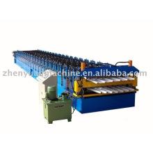 Golden proveedor! Panel que forma la máquina, equipo que forma doble de la cubierta, máquina de balanceo del panel de la hoja