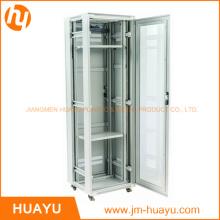 Caja del servidor del estante con el gabinete de la puerta principal de la malla con diverso ancho del tamaño 600m m 14u 22u 36u 42u 47u