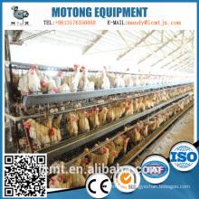 Échelle de soie galvanisée d'assurance de qualité empilant la cage de poulet