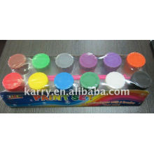 12 colors excellent quality arcylic color
